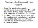 elements of a process control system7