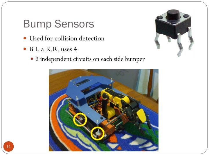 Bump Sensors