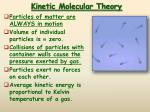 kinetic molecular theory1