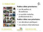 3 public cible