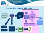 from ascii data to xml files2