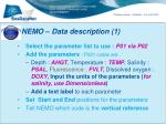 nemo data description 1