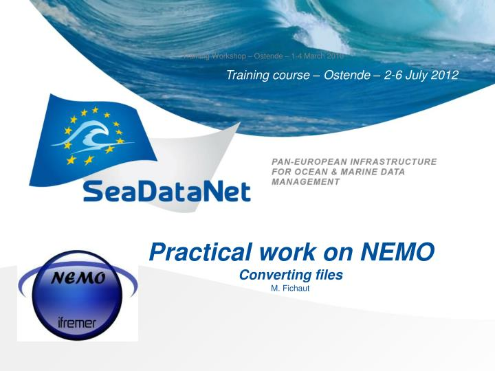practical work on nemo converting files n.