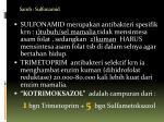 samb sulfonamid