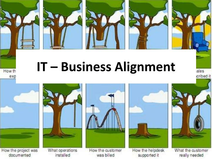 it business alignment n.