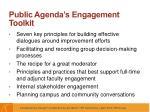 public agenda s engagement toolkit