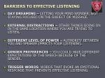 barriers to effective listening1