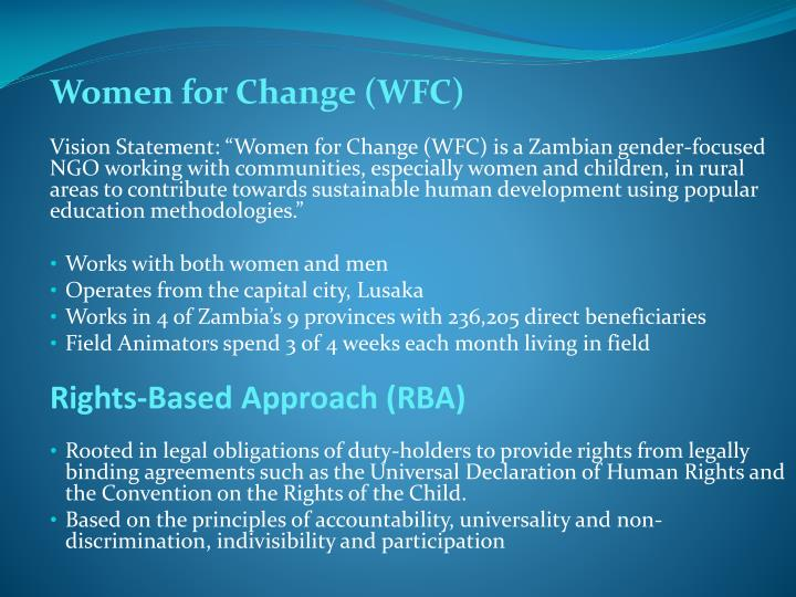 Women for Change (WFC)