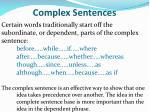 complex sentences2