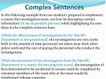 complex sentences3