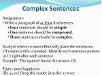 complex sentences6