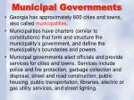 municipal governments