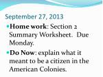 september 27 2013