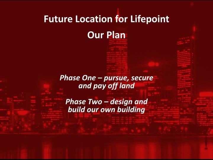 Future Location for
