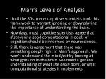 marr s levels of analysis1
