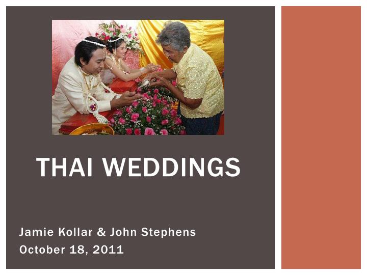 thai weddings n.