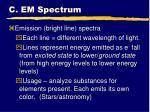 c em spectrum4