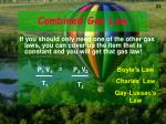 combined gas law1