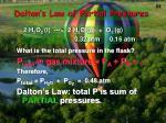 dalton s law of partial pressures