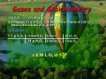 gases and stoichiometry1