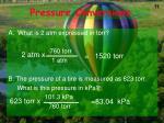 pressure conversions1
