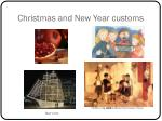 christmas and new year customs