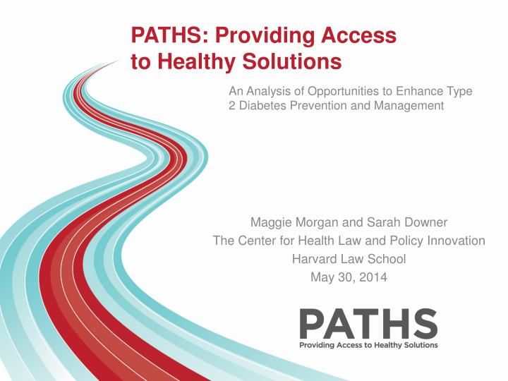 paths providing access to healthy solutions n.