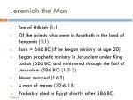 jeremiah the man