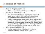 message of nahum