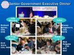 senior government executive dinner