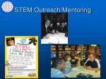 stem outreach mentoring