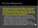 director responses2