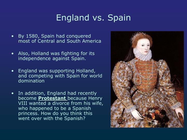 England vs. Spain