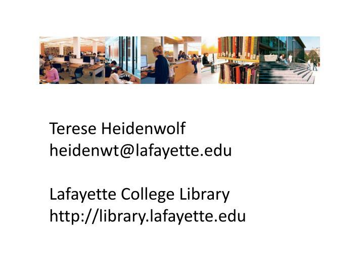 Terese Heidenwolf