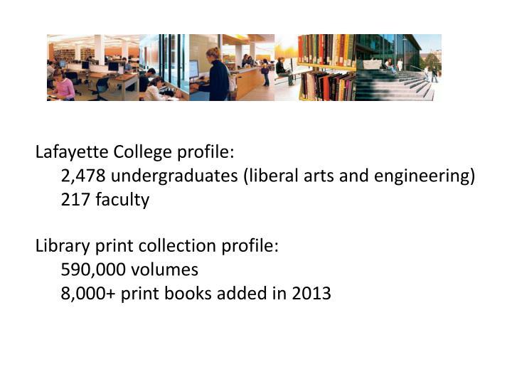 Lafayette College profile: