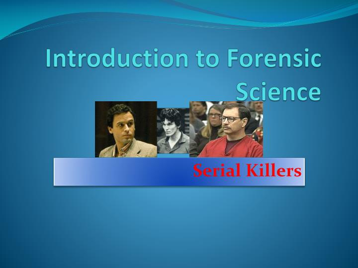 introduction to forensic science n.