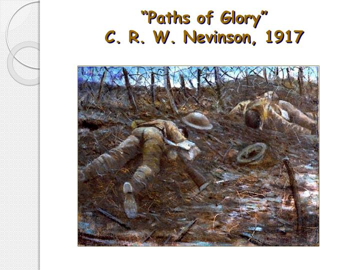 """Paths of Glory"""