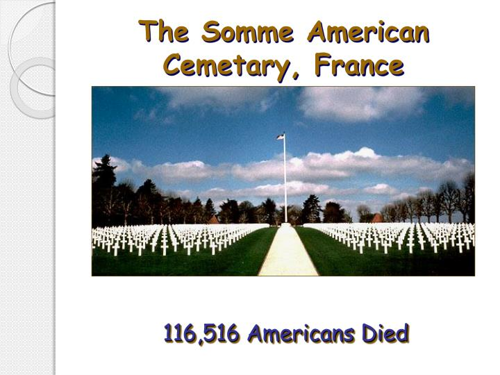 The Somme American