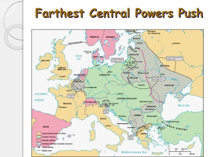 Farthest Central Powers Push