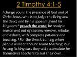 2 timothy 4 1 5