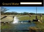 ground water
