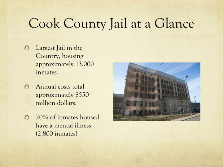 Cook County Jail at a Glance