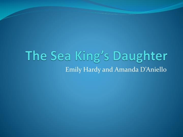 the sea king s daughter n.