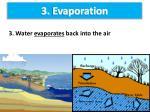 3 evaporation