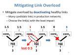 mitigating link overload1