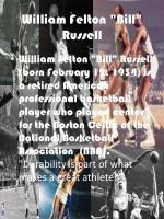 william felton bill russell