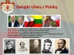 zwi zki litwy z polsk