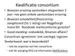 kwalificatie consortium1