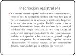 inscripci n registral 4