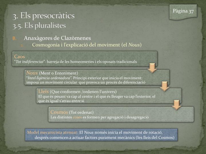 3 els presocr tics 3 5 els pluralistes2